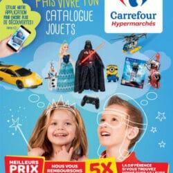 Carrefour lance son premier catalogue print augmenté pour Noël