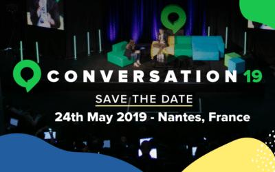 #Conversation19 : conférence sur le marketing conversationnel à Nantes le 24 mai 2019