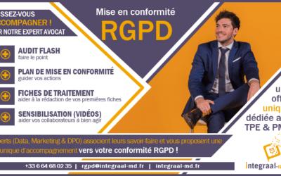 Offre spéciale : mise en conformité avec le RGPD pour les TPE/PME