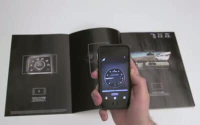 «Sensory Overdrive» : Land Rover's interactive print campaign