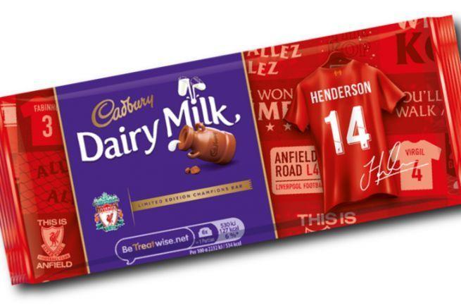 hp indigo 2000 et SmartStream personnalisation Cadbury Liverpool