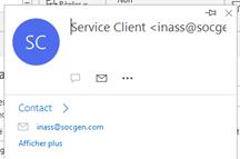 Tentative de phishing des clients de la Société Générale : identification de l'émetteur